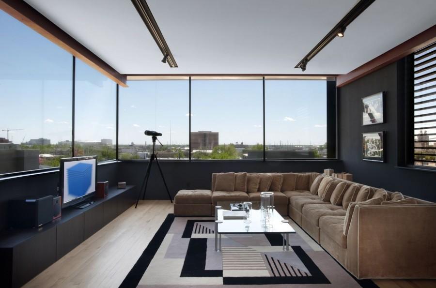 modern house city concrete cool idea (5)