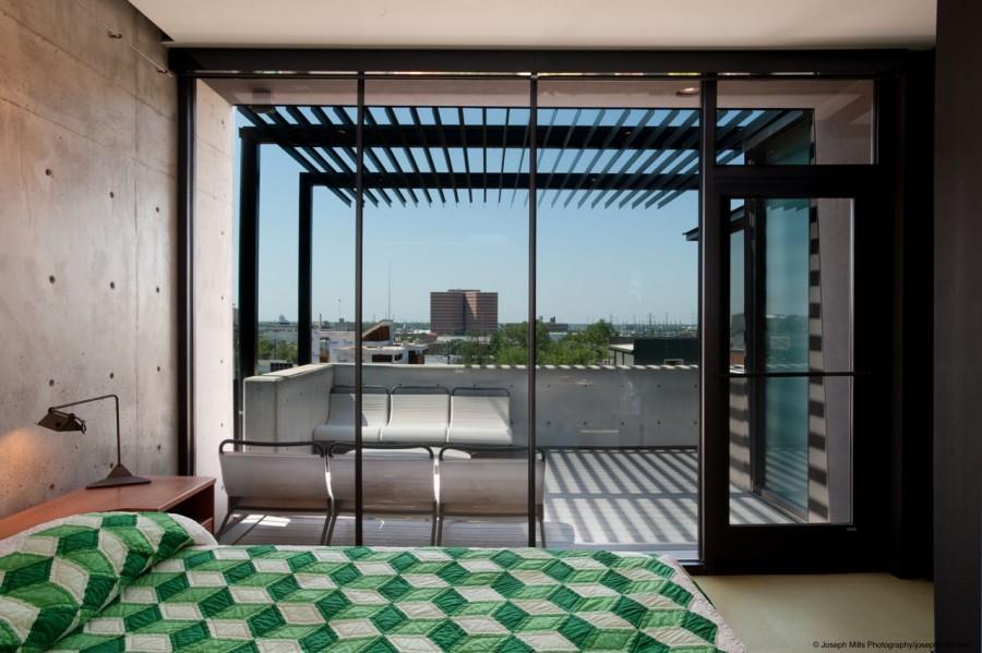 modern house city concrete cool idea (6)
