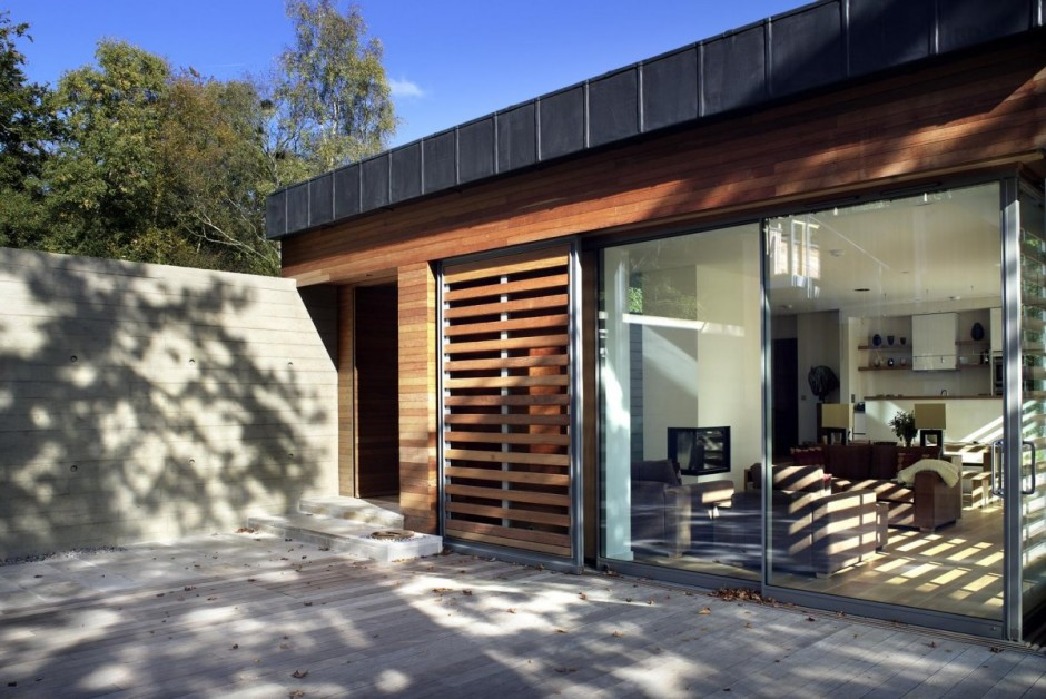 modern house in beautiful garden (1)