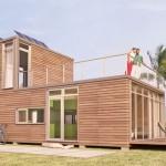 แบบบ้านไม้แนวโมเดิร์น เพื่อชีวิตสมัยใหม่ และเน้นการประหยัดพลังงาน