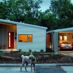 แบบบ้านแนวโมเดิร์นชั้นเดียว สำหรับคนรักความเรียบง่าย และประหยัดพลังงาน