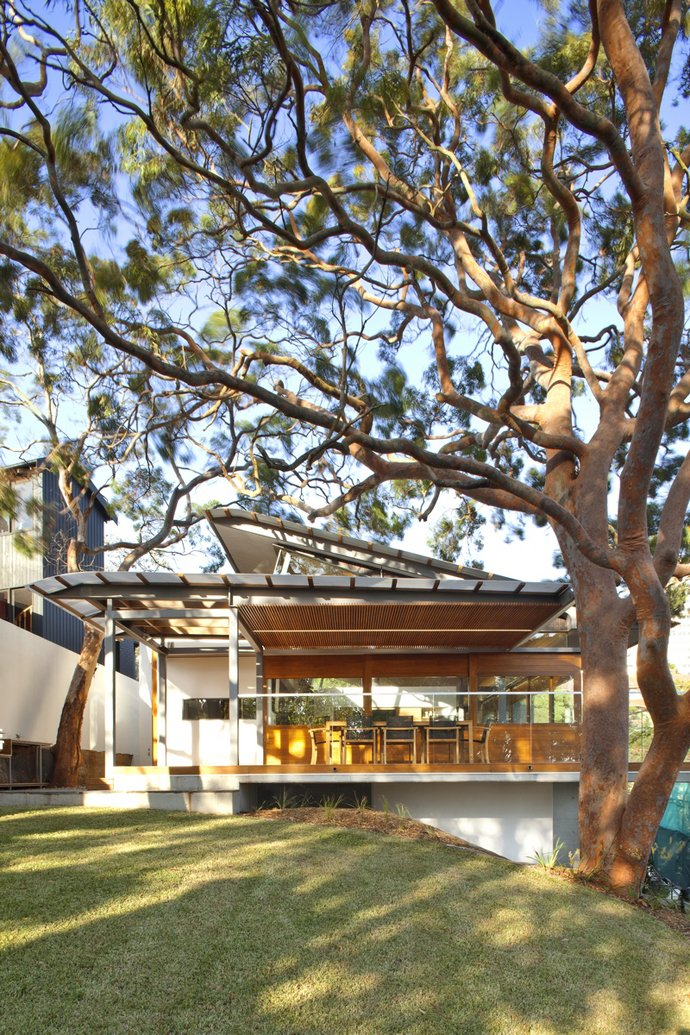 modern house wood concrete glass serene (13)