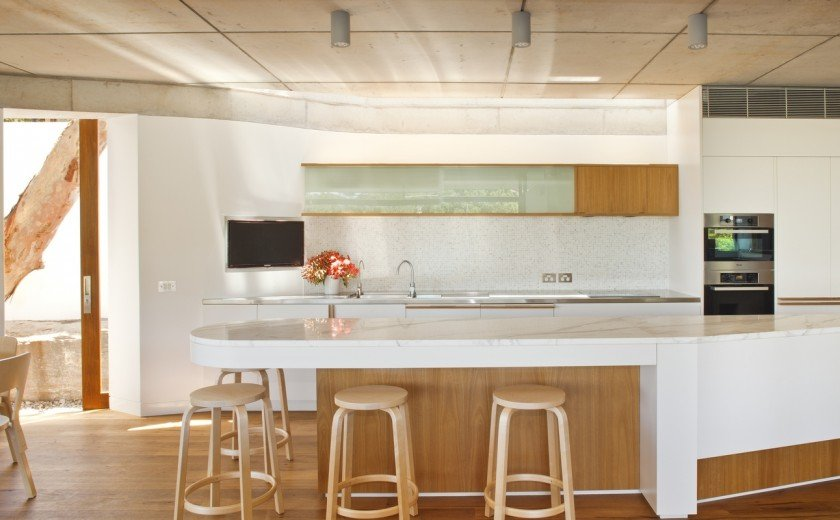 modern house wood concrete glass serene (15)