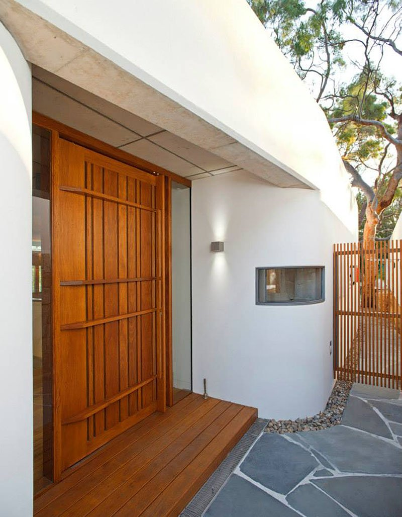 modern house wood concrete glass serene (2)