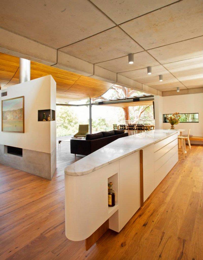 modern house wood concrete glass serene (3)