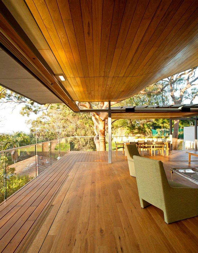 modern house wood concrete glass serene (4)