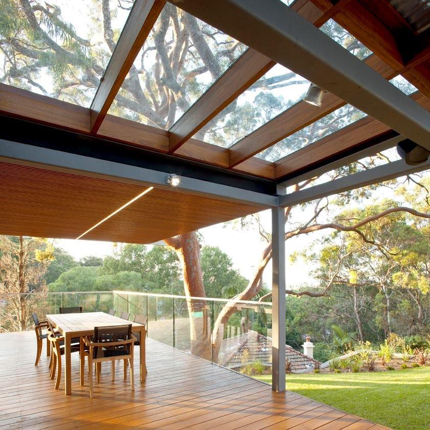 modern house wood concrete glass serene (6)