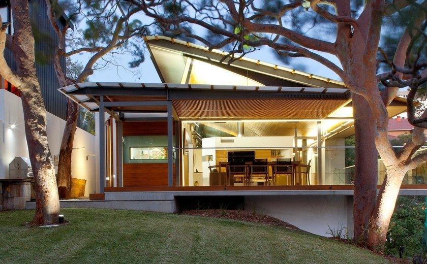 modern house wood concrete glass serene (7)