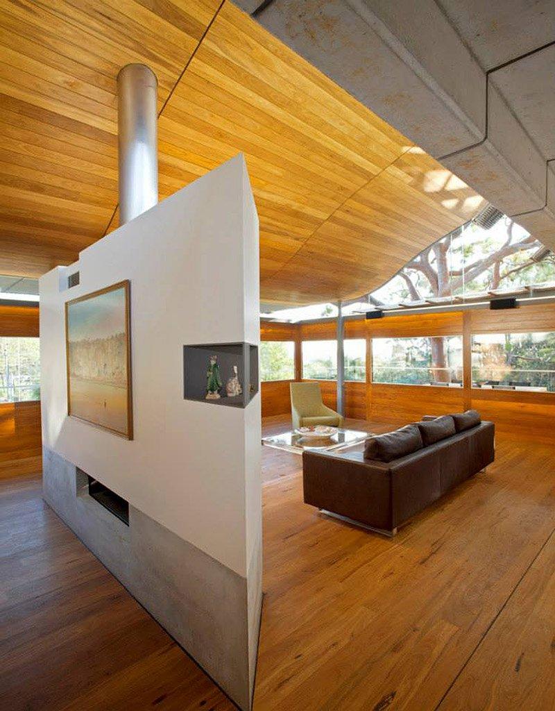 modern house wood concrete glass serene (9)