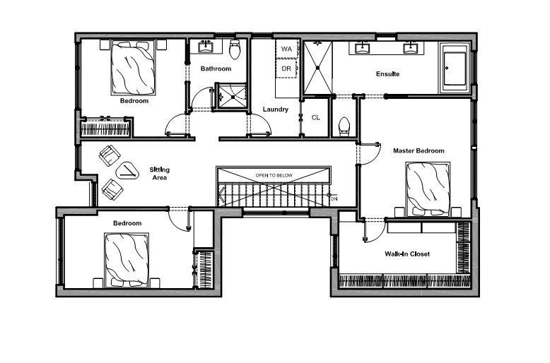 modern monotone house design (9)