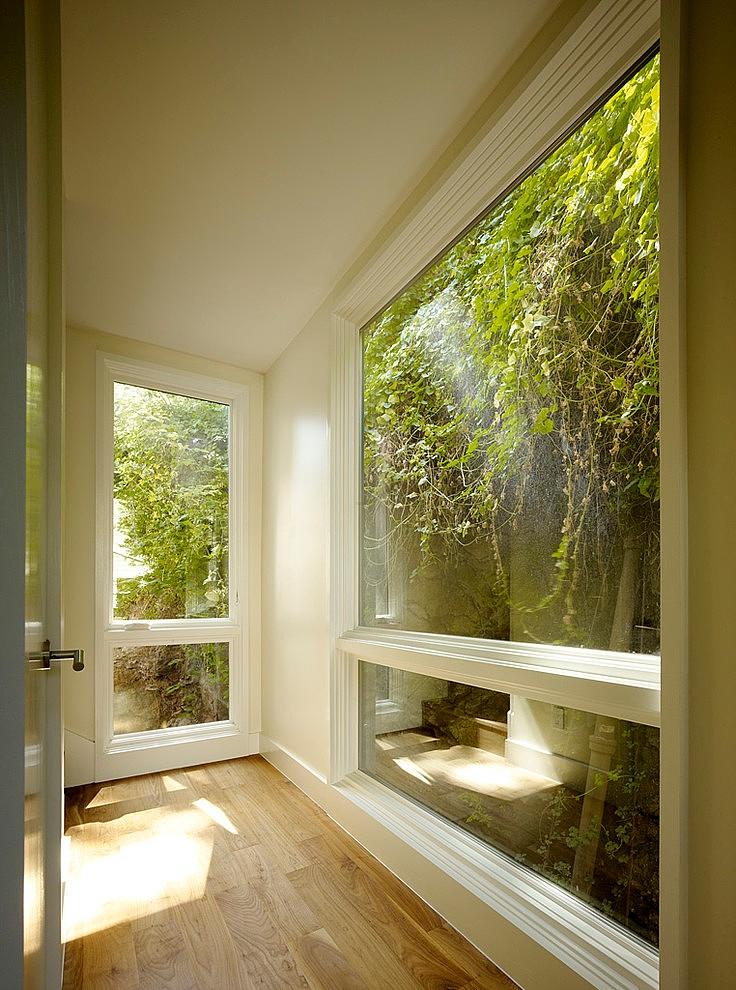 modern town house wood glass contemporary loft (13)