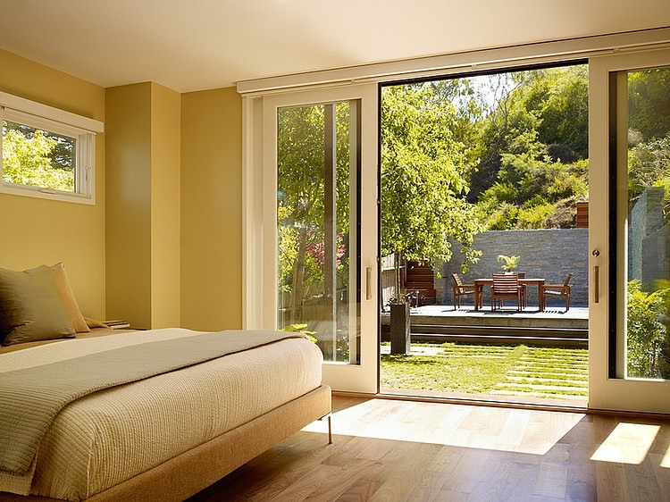 modern town house wood glass contemporary loft (5)