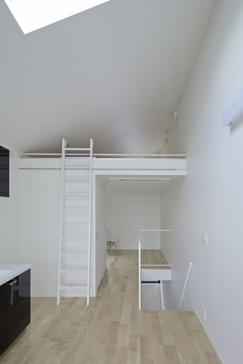 modern townhouse in city japan minimal (1)