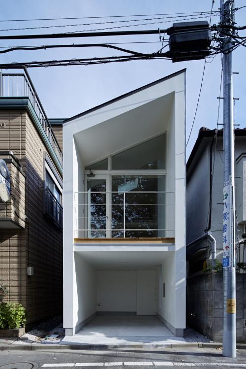 modern townhouse in city japan minimal (11)