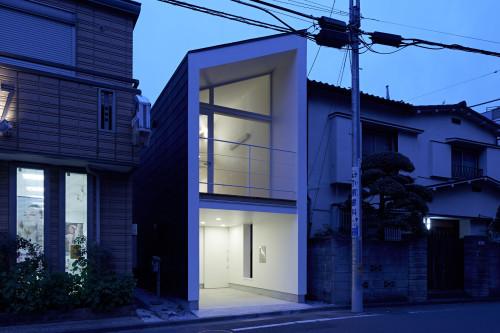 modern townhouse in city japan minimal (2)