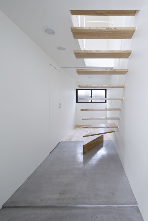 modern townhouse in city japan minimal (5)