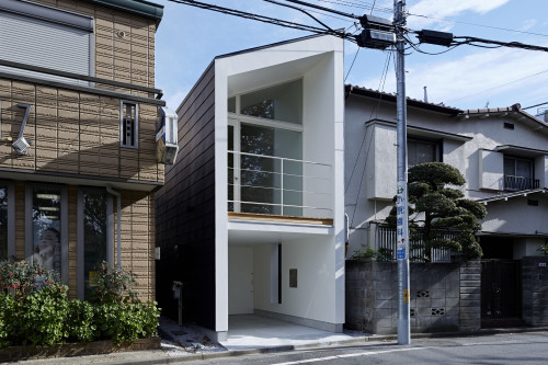 modern townhouse in city japan minimal (7)