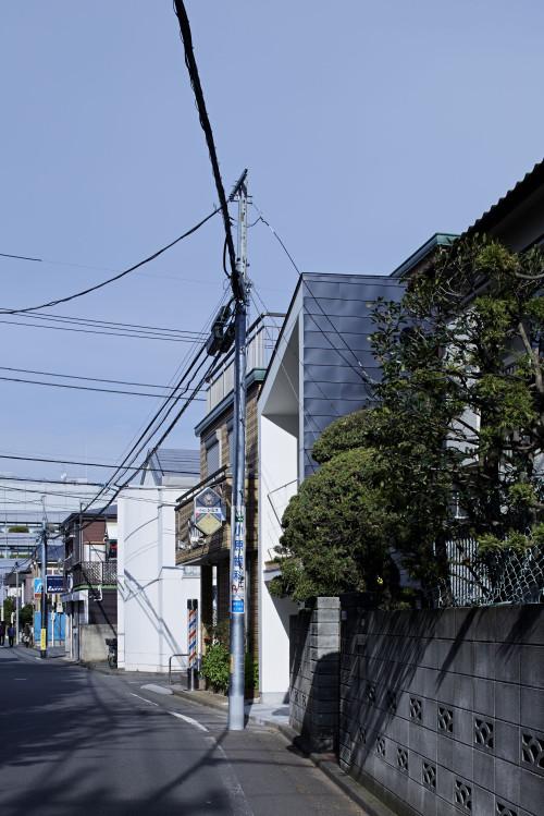 modern townhouse in city japan minimal (9)