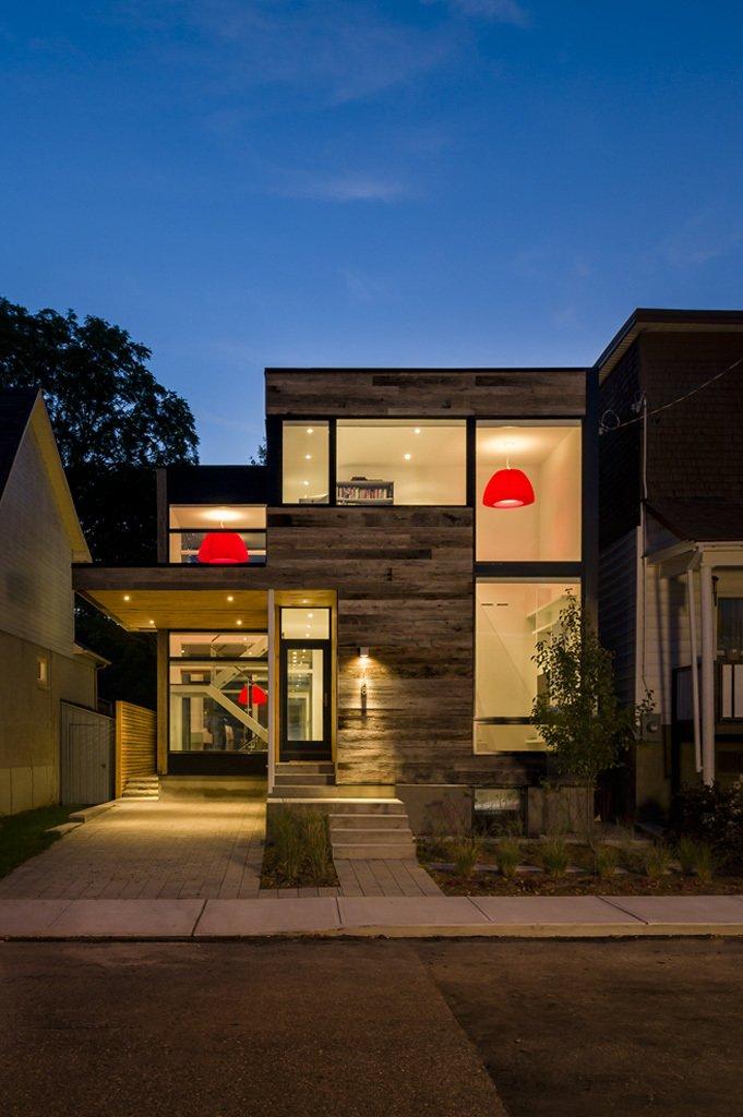 modern wood glass townhouse (10)