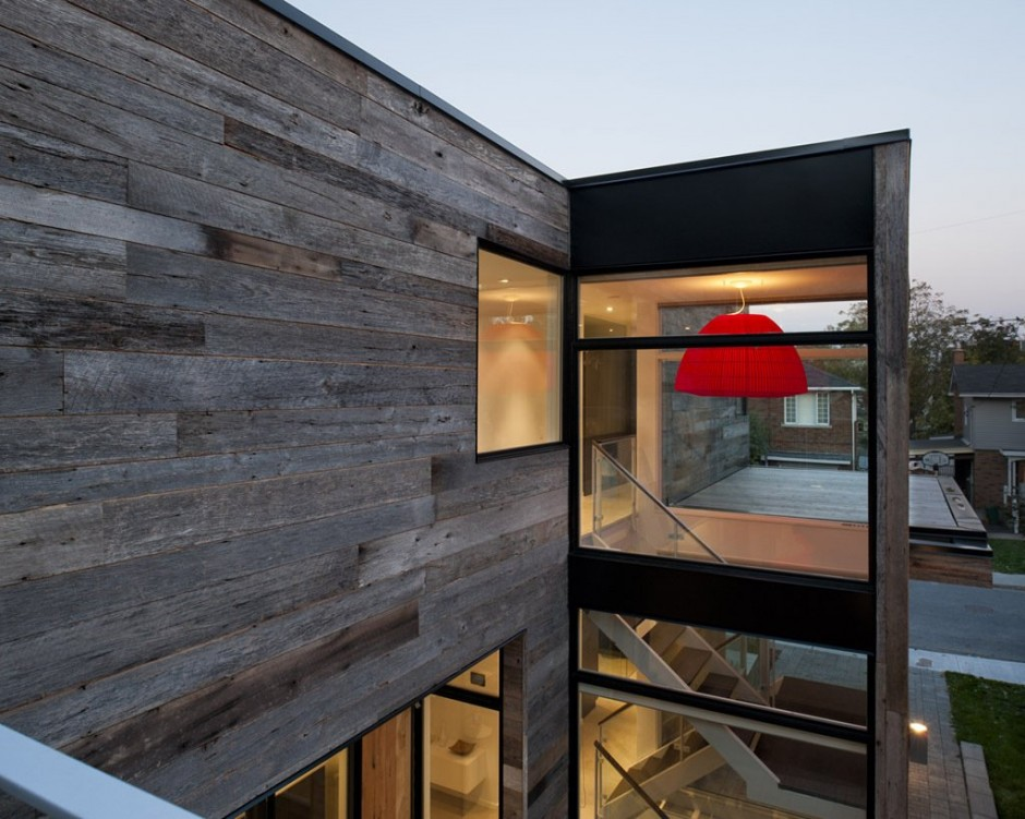 modern wood glass townhouse (11)