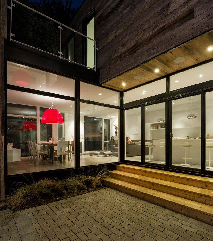modern wood glass townhouse (12)