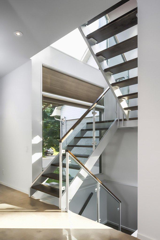 modern wood glass townhouse (13)