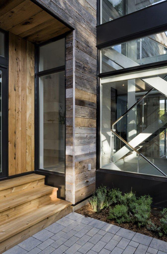 modern wood glass townhouse (9)