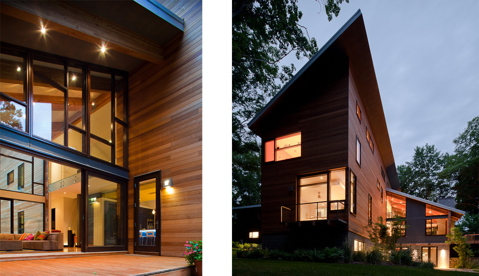 modern wooden glass house architecture (10)