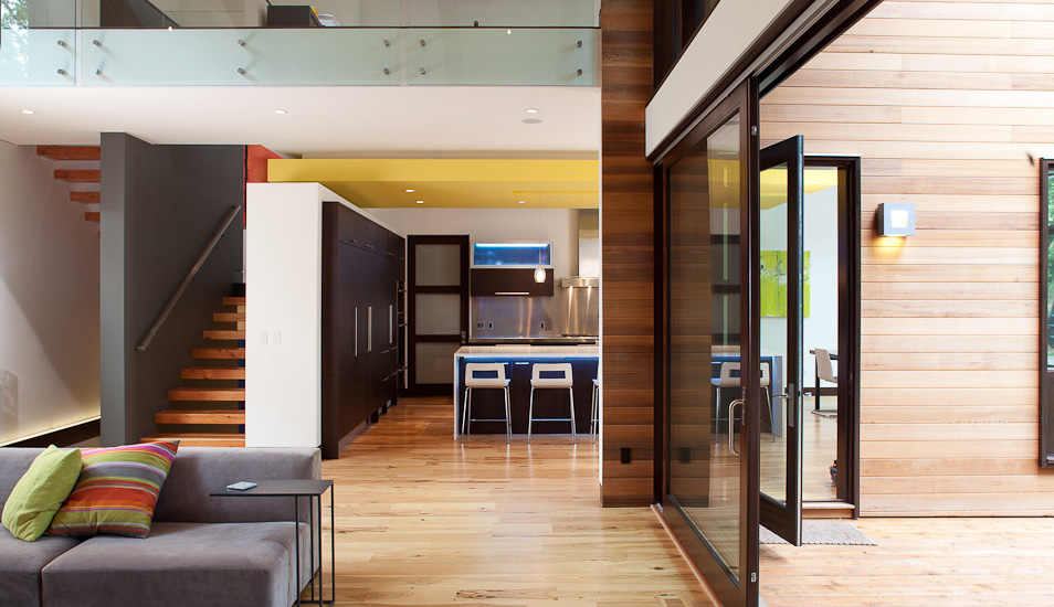 modern wooden glass house architecture (2)