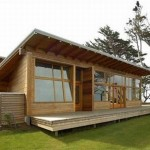 แบบบ้านไม้ทรงเพิงหมาแหงน ออกแบบได้อย่างเรียบง่าย ดูสบายและน่าอยู่