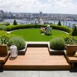 ไอเดียรักษ์โลก เปลี่ยนดาดฟ้าให้กลายเป็นสวนสีเขียว เพิ่มพื้นที่พักผ่อนสบายๆ