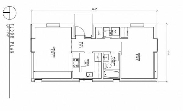 simple modern house plan (2)