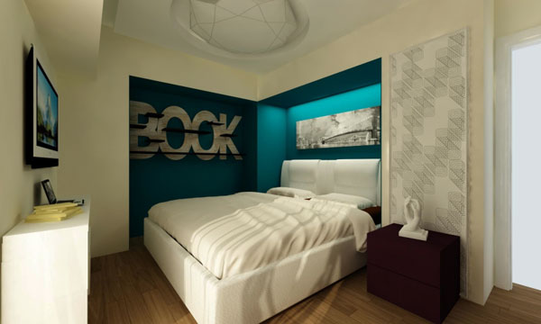 small bedroom decoration idea (14)