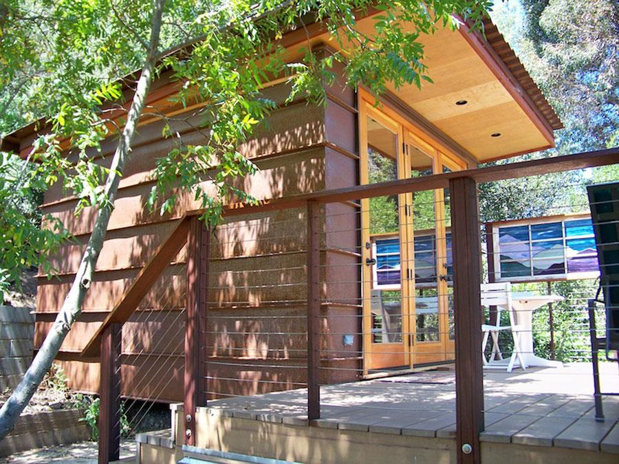 small modern cabin 14 sq mt (6)