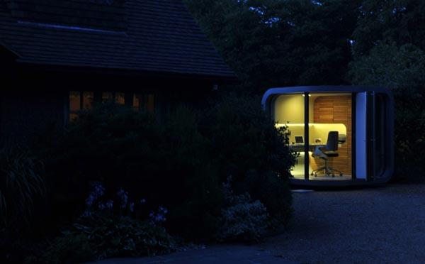 small modern home office cute (3)