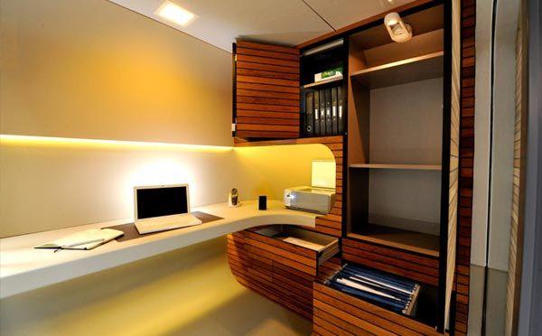 small modern home office cute (6)