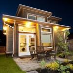 แบบบ้านสองชั้นหลังเล็ก ออกแบบสไตล์โมเดิร์น ดูทันสมัยน่าอยู่