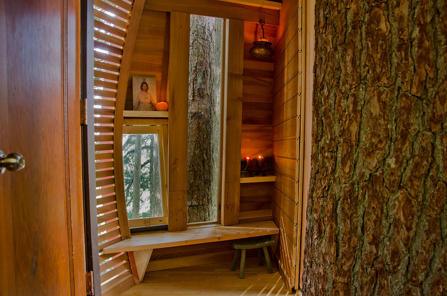 small wood treehouse canada (8)
