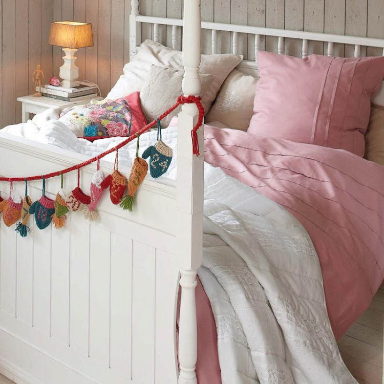 vintage bedroom idea for family (5)