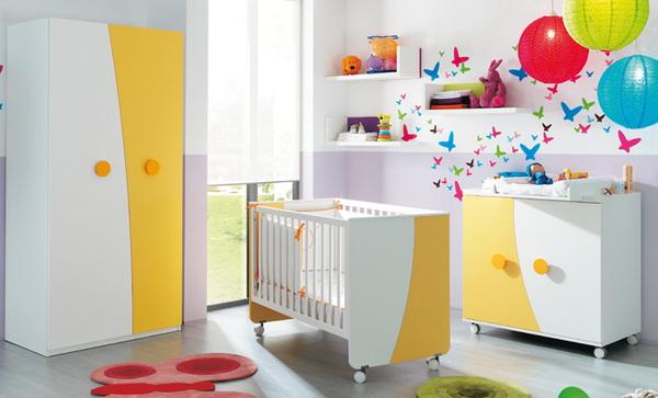 vivid color bedroom idea decoration (10)
