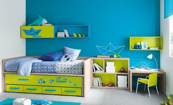 vivid color bedroom idea decoration (11)