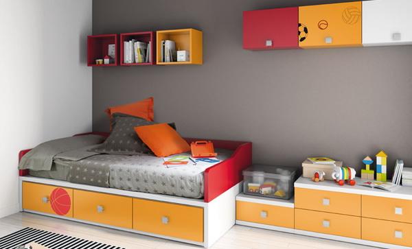 vivid color bedroom idea decoration (13)