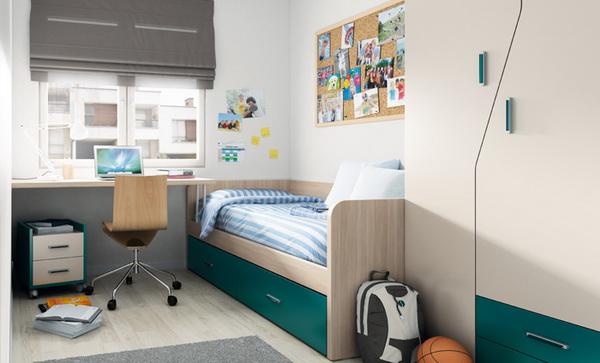 vivid color bedroom idea decoration (14)