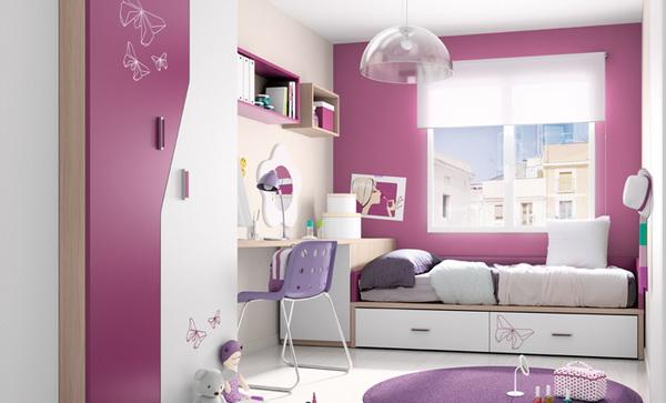 vivid color bedroom idea decoration (15)