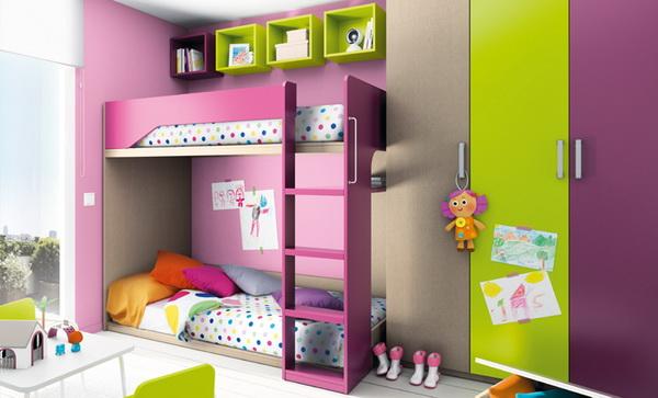 vivid color bedroom idea decoration (16)