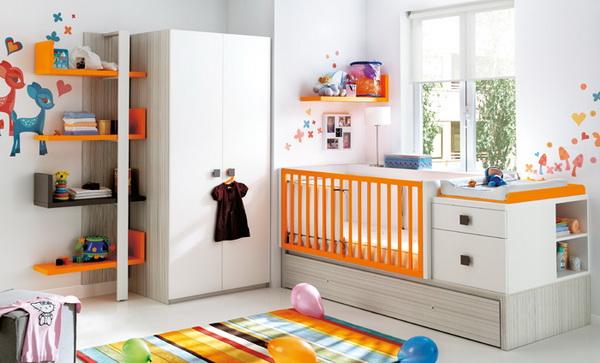 vivid color bedroom idea decoration (17)