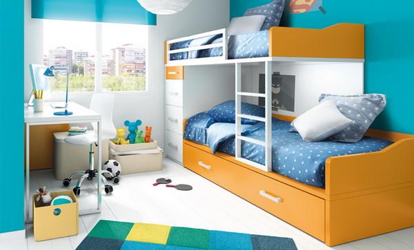 vivid color bedroom idea decoration (2)
