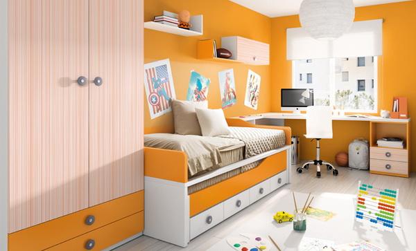 vivid color bedroom idea decoration (4)