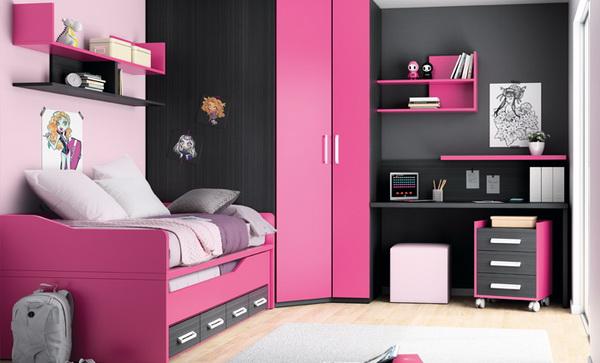 vivid color bedroom idea decoration (6)