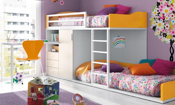 vivid color bedroom idea decoration (8)